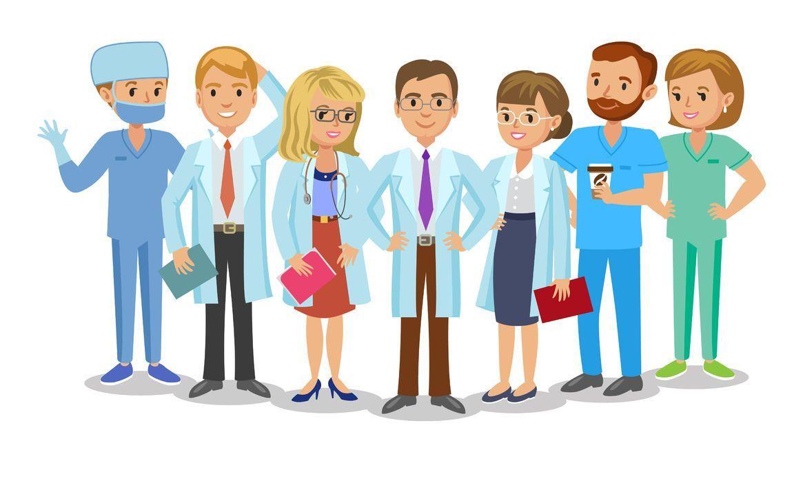 Equipe medica di Diagnostica Lanciani
